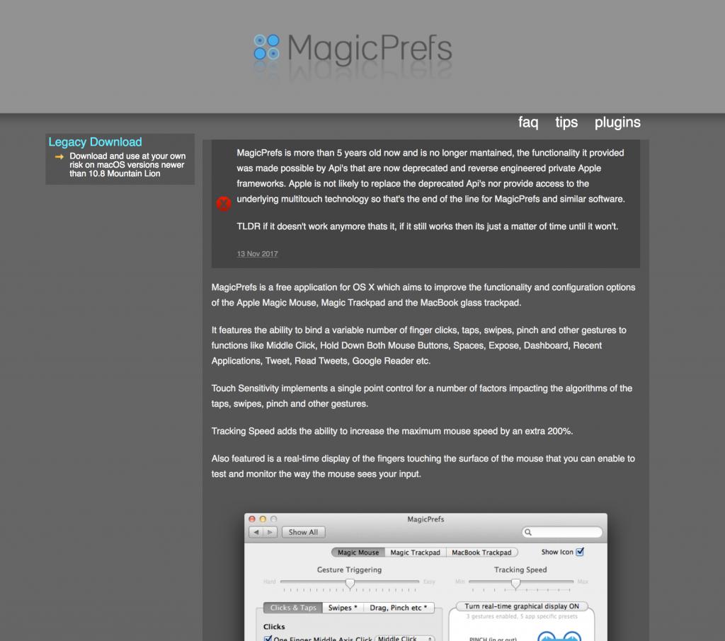 MagicPrefsサイト