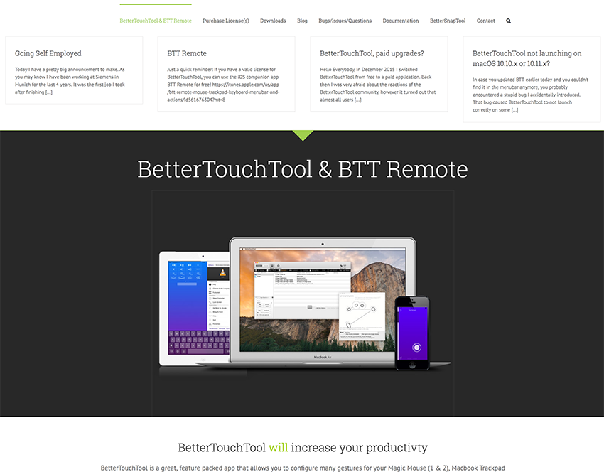 BetterTouchToolWebサイト